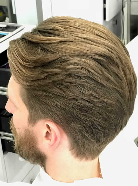 Male Hair Cut VIctoria