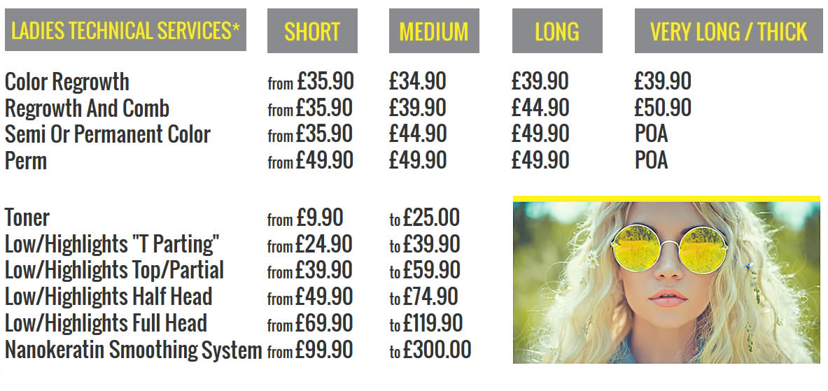 hair services Victoria